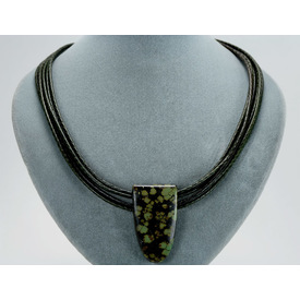 5543d0dab4c02multicordgreenturqneck2g multi braided cord green turquoise pendant green aloadofball Image collections